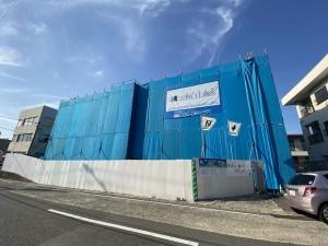 生野町新築工事中外観②